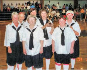 Iowa Granny Basketball State Champions 2005