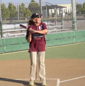 Muffin Letham's wish to hit baseballs fulfilled