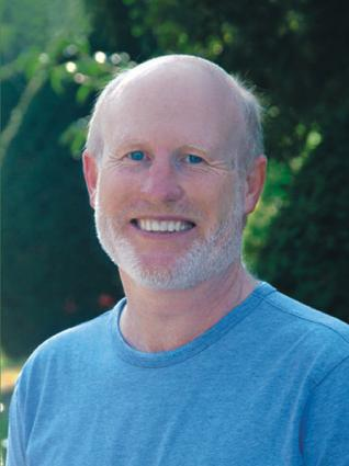 John Schlorholtz, founder of Ageless Yoga