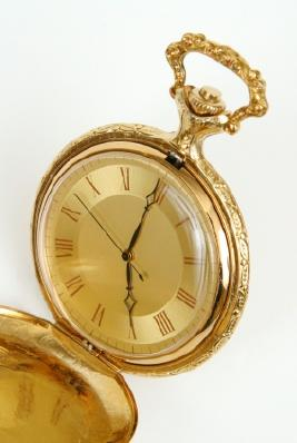 Gold watch for a retirement gift