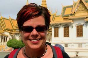 Woman in Cambodia