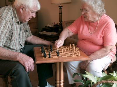 Activity is important for the elderly and their caretakers.