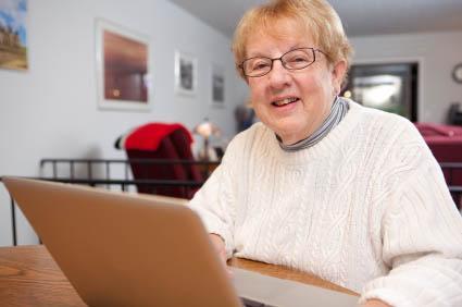 Chat rooms for older folks