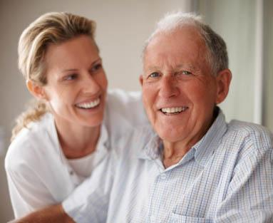 Asking questions is important for senior care.
