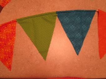 How to Sew a Fabric Pennant