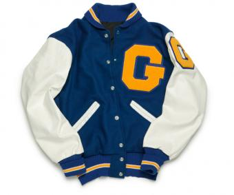 How to Sew Letters on a Letterman's Jacket