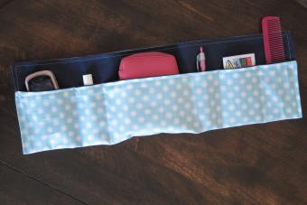 Sewing Pattern for Purse Organizer