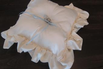 How to Sew a Ring Bearer Pillow