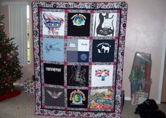 How to Make a Shirt Quilt