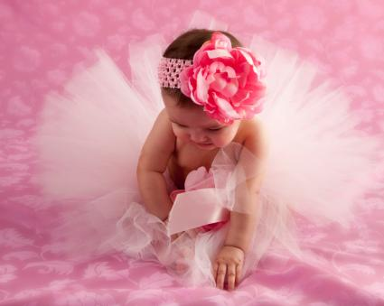 baby with tutu