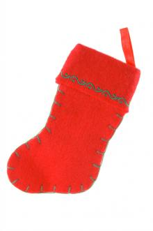mini felt stocking