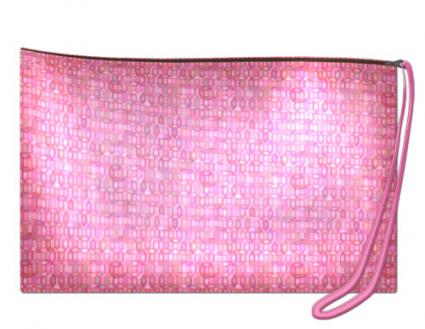 zippered wristlet