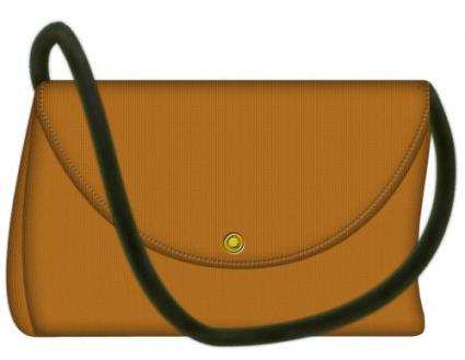 flap front handbag