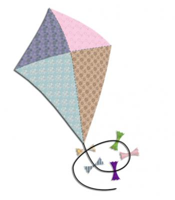 kite applique pattern