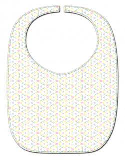 reversible bib pattern
