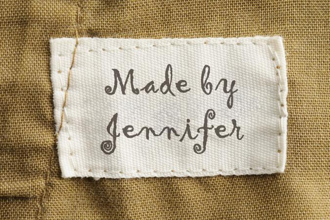 Sewing Label