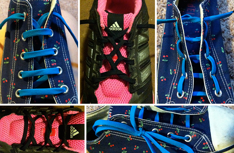 Cool Ways to Lace Shoes  f5ade5b67