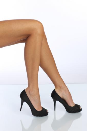 Stilettos and high heels are always sexy.