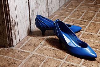 Women loved their bold pumps.