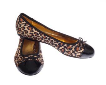 adorable leopard flats