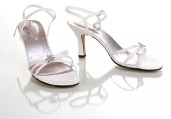 Ladies White Dress Shoes