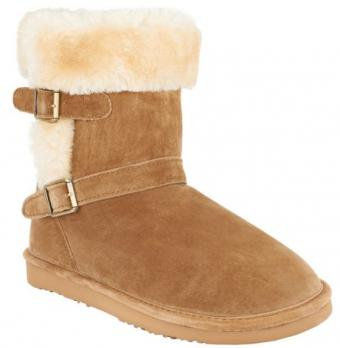 Lamo suede water resistant boots