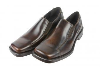 Mens Square Toe Dress Shoes