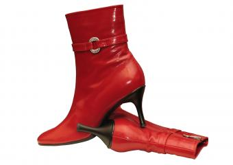 Cute Red Boots for Women
