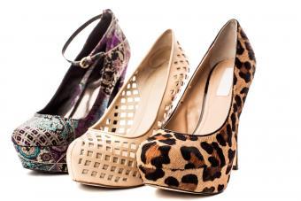 Wide Width High Heel Shoes