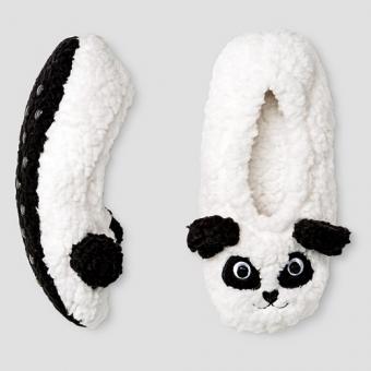 Kids Panda Bootie Slippers
