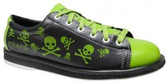 Pyramid Men's Skull Green/Black Bowling Shoes