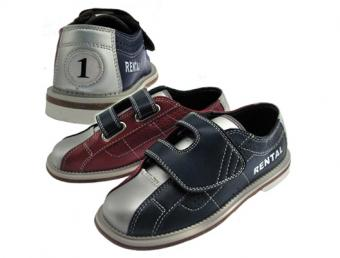 Classic Velcro Leather Rental Shoes