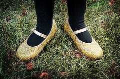 Glitter Halloween Shoes