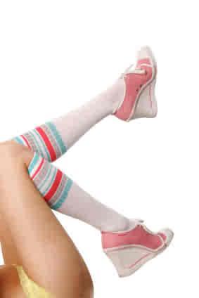wedge style sneakers