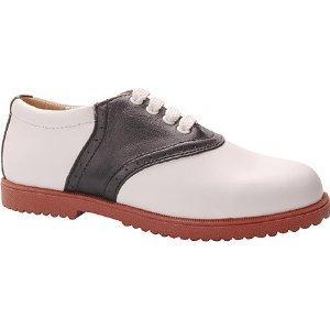 ladies saddle shoe