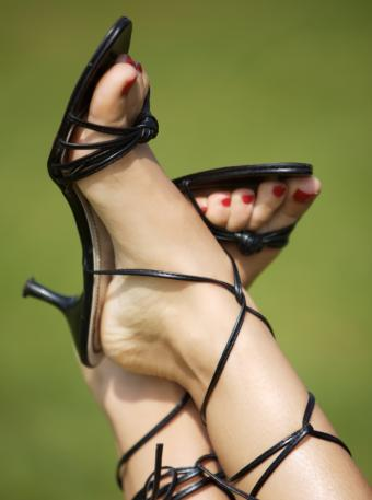 Pictures of Strappy Sandals