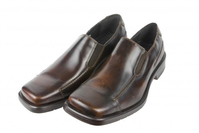 Mens Square Toe Dress Shoes