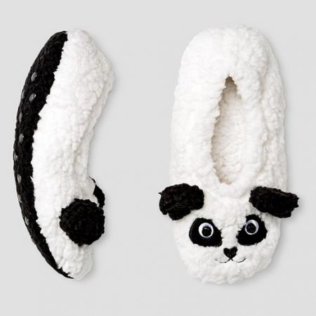 Kids Panda Bootie Slippers