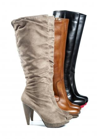 selection of fashion boots