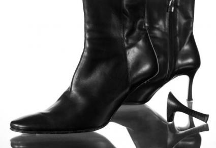 Broken Boot Heel