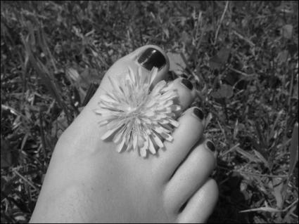 Pretty feet