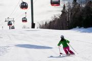 Stowe mountain slope
