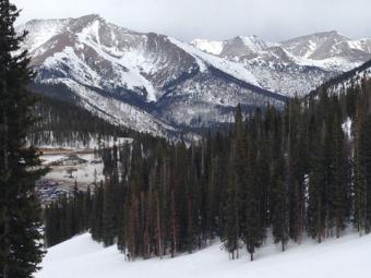 View from Monarch Mountain
