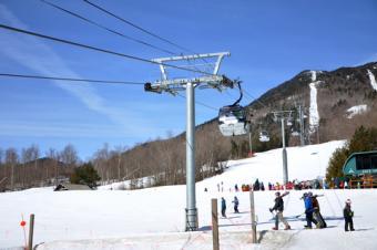 Whiteface mountain ski lift