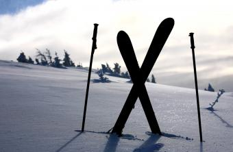 Skier Silhouette Images