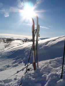 Waxing Downhill Skis