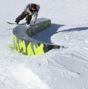 Snowboard Rails