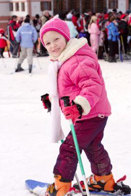 Kid Skiing Interview