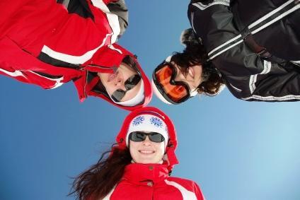 Gunstock skiers