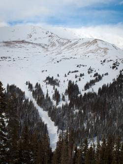 Skiing at Loveland Basin
